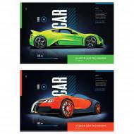 """Альбом для рисования 24л., А4, на скрепке ArtSpace """"Авто. Turbo car"""""""