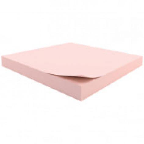 """Самоклеящийся блок Berlingo """"Стандарт"""", 76*76мм, 100л, розовый"""