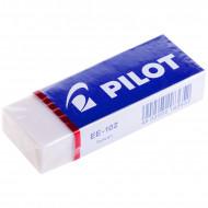 Ластик Pilot, прямоугольный, винил, картонный футляр, 61*22*12мм