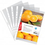 Папка-вкладыш с перфорацией Berlingo Апельсиновая корка, А4, 60мкм, матовая
