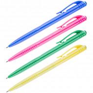 Ручка шариковая автоматическая OfficeSpace синяя, 0,7мм, цветной корпус3