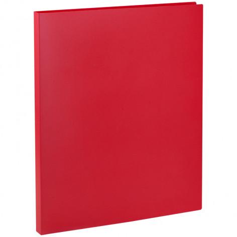 Папка с пружинным cкоросшивателем OfficeSpace, 14мм, 450мкм, красная