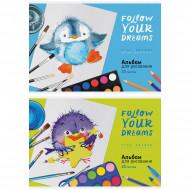 Альбом для рисования 20л.,А4,ArtSpace Рисование.Follow you dreams