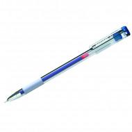 """Ручка гелевая Berlingo """"Standard"""" синяя, 0,5мм, грип, игольчатый стержень"""