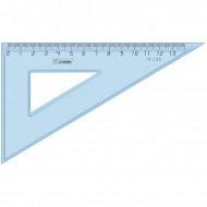 Треугольник 30°, 13см Стамм, прозрачный голубой