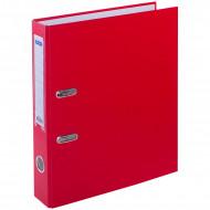 Папка-регистратор OfficeSpace, 50мм, бумвинил, с карманом на корешке, красная