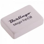 """Ластик Berlingo """"Mega Top"""", прямоугольный, натуральный каучук, 32*18*8мм"""